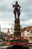 Fountain, Gengenbach, Black Forest, Germany