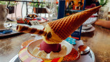 Pinocchio icecream, Gengenbach, Black Forest, Germany