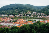 Neckar river, Heidelberg, Germany