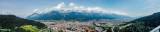 Panorama, View of Innsbruck, Bergisel Ski Jump, Austria