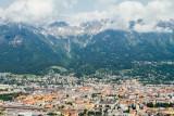 View of Innsbruck, Bergisel Ski Jump, Austria