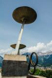 Bergisel Ski Jump, Olympics location, Cauldron, Innsbruck, Austria