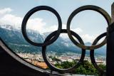 Bergisel Ski Jump, Olympics location, Rings, Innsbruck, Austria