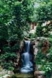 Waterfall, Alpenzoo, Innsbruck, Austria