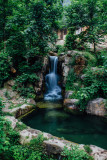 Waterfalls, Alpenzoo, Innsbruck, Austria