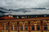 Clouds, View of the Alps, Innsbruck, Austria