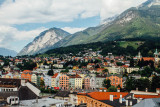 View of Innsbruck, from Clock Tower, Austria