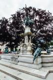 Leopold V, Fountain, Hofburg Palace, Innsbruck, Austria