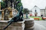 Fountain, Hofburg Palace, Innsbruck, Austria
