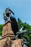 Statue, Art, Bergisel, Innsbruck, Austria