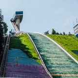Bergisel Ski Jump, Zaha Hahid designed, Innsbruck, Austria