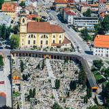 Pfarrkirche (Basilika) Wilten,Friedhof, Innsbruck, Austria