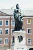 Mozart, Mozartplatz, Salzburg, Austria