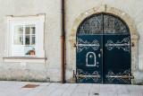 Door, Salzburg, Austria