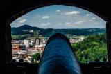 Cannon, Salzburg Castle, Salzburg, Austria