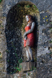 Woman on Rock, Stephan Balkenhol, Salzburg, Austria