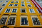 Mozart's birthplace, Geburtshaus, Salzburg, Austria
