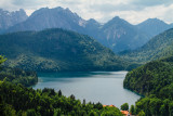 Alpsee, Hohenschwangau, Bavaria, Germany