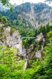 Marienbrucke, Pollat River Waterfalls, Hohenschwangau, Bavaria, Germany