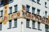 Mural, Nuremberg, Bavaria, Germany
