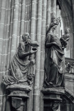 Wise King, St. Lorenz, Nuremberg, Bavaria, Germany