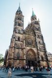 St. Lorenz, Nuremberg, Bavaria, Germany