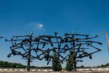 Memorial erected in 1968, Camp, Dachau, Germany