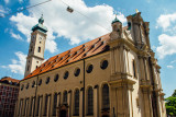 Heiliggeistkirche, Holy Ghost Church, Munich, Bavaria, Germany