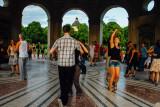 Diana Pavilion, Hofgarten, Dancing, Munich, Bavaria, Germany