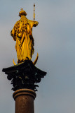 Marian Column, Queen of Heaven, Marienplatz, Munich, Bavaria, Germany