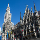 The New Town Hall, Marienplatz, Munich, Bavaria, Germany