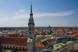 View of Munich, Bavaria, Germany