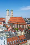 Frauenkirche, Dom zu Unserer Lieben Frau, Cathedral of Our Dear Lady, Munich, Bavaria, Germany