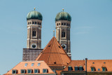 Frauenkirche towers, Munich, Bavaria, Germany