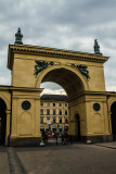 Entrance to Hofgarten, Munich, Bavaria, Germany