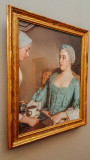 The FIrst Cup, Das Fruhstuck I um, Jean-Etienne Liotard, 1753, Neue Pinakothek, Munich, Bavaria, Germany