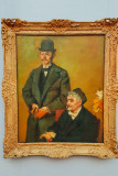Henri Rouart and his son Alexis, Edgar Degas, 1895, Neue Pinakothek, Munich, Bavaria, Germany