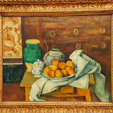 Still life with Commode, Paul Cezanne, 1886, Neue Pinakothek, Munich, Bavaria, Germany