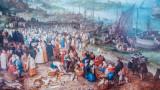 Seehafen mit der predigt Christi, Jan Brueghel, 1568-1625, Alte Pinakothek, Munich, Bavaria, Germany