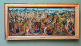 Die Sieben Freuden Mariens, Hans Memling, 1435-1494, Alte Pinakothek, Munich, Bavaria, Germany
