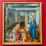 Verkundigunc Mariae, Fra Filippo, Alte Pinakothek, Munich, Bavaria, Germany