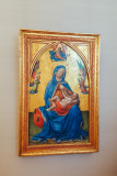 Maria mit dem Kinde, Masolino Da Panicale, 1447, Alte Pinakothek, Munich, Bavaria, Germany