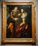 Rubens und Isabella, Peter Paul Rubens, 1577 - 1640, Alte Pinakothek, Munich, Bavaria, Germany
