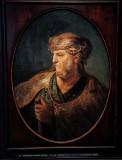 Brustbild Eines Mannes in Orietlalischem Kostum, Rembrandt Harmenzs Van Rijn, 16060 - 1669, Alte Pinakothek, Munich, Bavaria, Ge