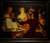 Der Liederliche Student, Gerard Van Honthorst, 1592 - 1656, Alte Pinakothek, Munich, Bavaria, Germany