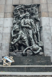 The Fight, Ghetto Heroes Monument, Warsaw by Nathan Rappaport