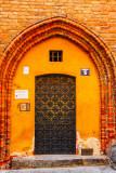 Towarzystwo Przyjacioe Warszawy, Door, Warsaw, Poland