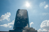 Sun shine, Warsaw, Poland