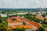 Old Town with the Vistula River, Warsaw