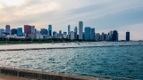 Chicago, View from Shedd Aquarium